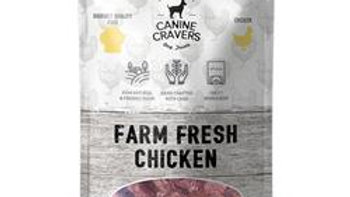 Farm Fresh Chicken - Canine Cravers Dog Treats, 5.3oz. Bag