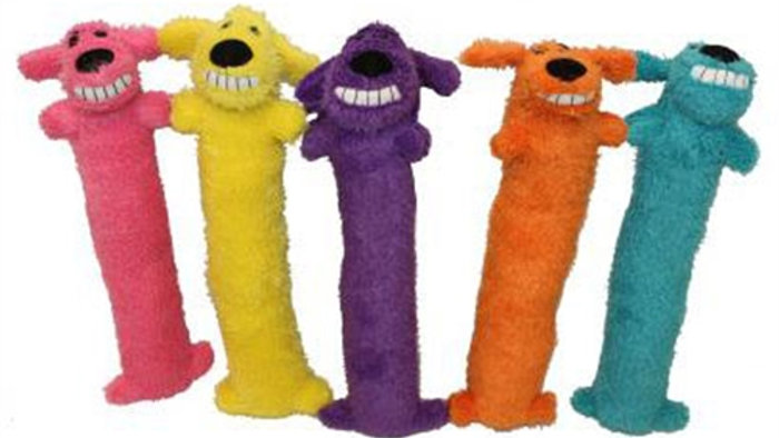 """Loofa Assorted Colors by Multipet 12"""""""