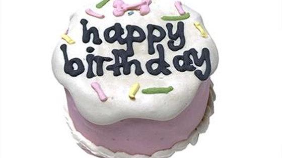 Pink Birthday Baby Cake - Shelf Stable