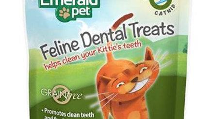 EMERALD PET CAT DENTAL TREAT CATNIP 3 OZ
