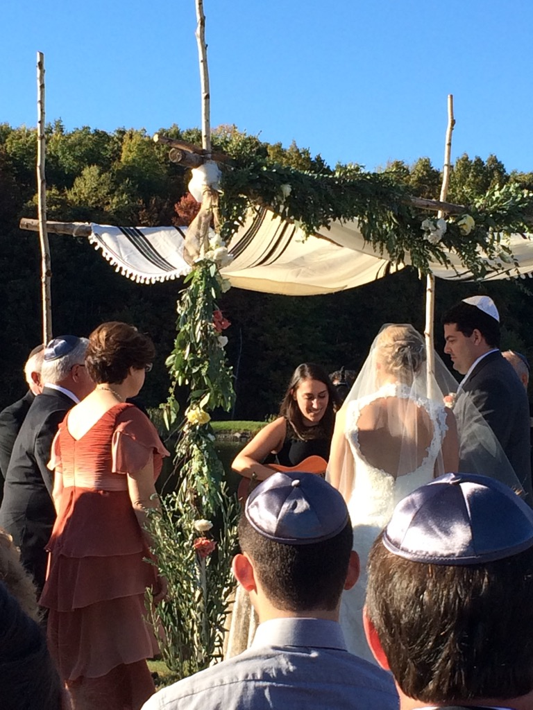 Jess and Oren Chuppah