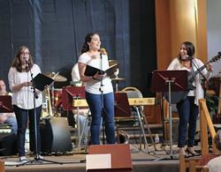 Debbie Friedman Memorial Concert (Sarah, Lauren and Shanna)