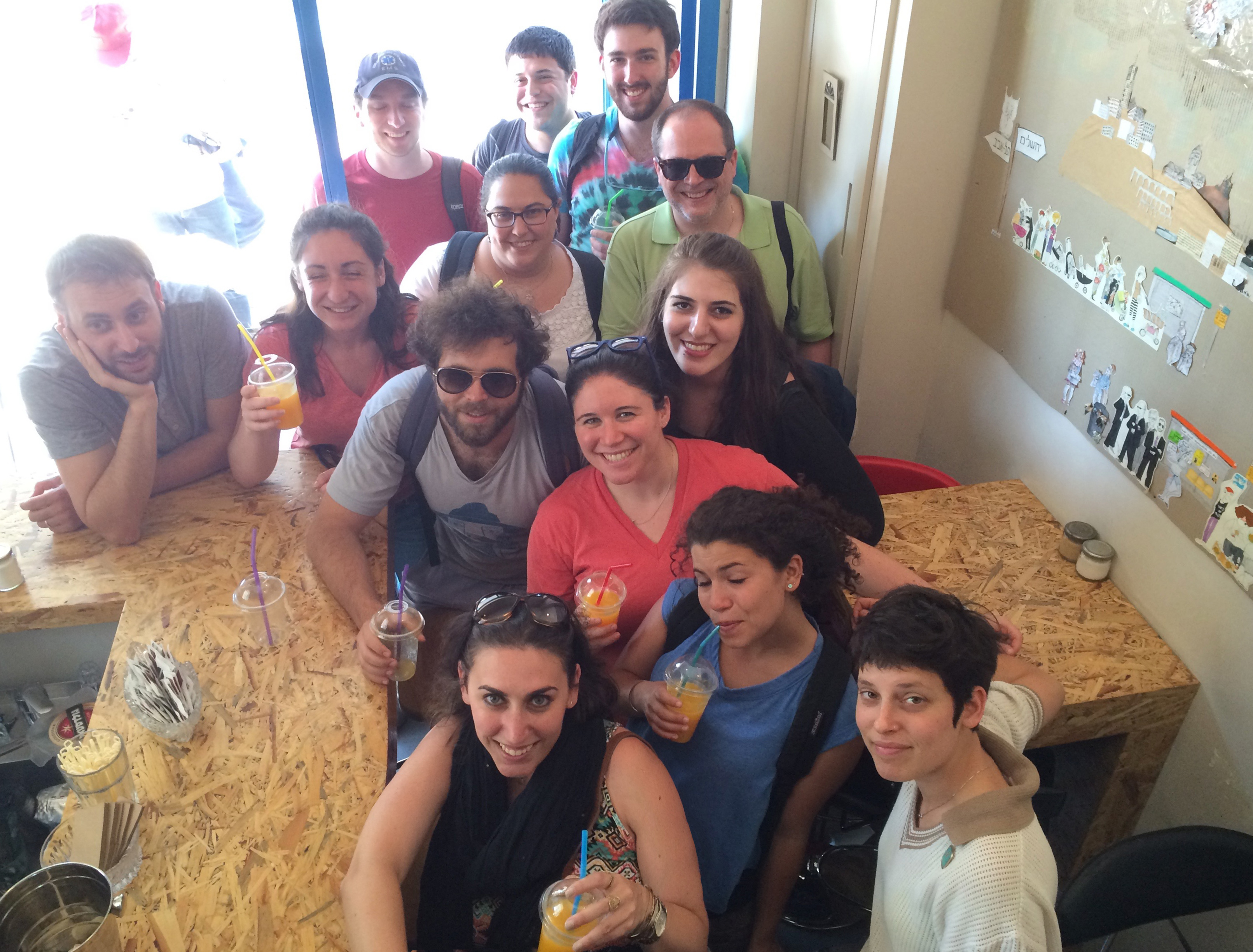 Jerusalem Summer Internship 2015