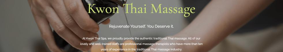 Kwon Thai Massage
