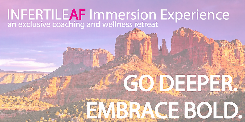 InfertileAF Immersion Experience, US