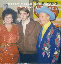 Kitty Wells and Johnny Wright