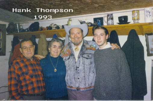 Hank Thompson and Grandparents