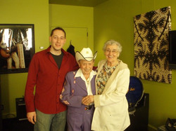 Little Jimmy Dickens and Grandma