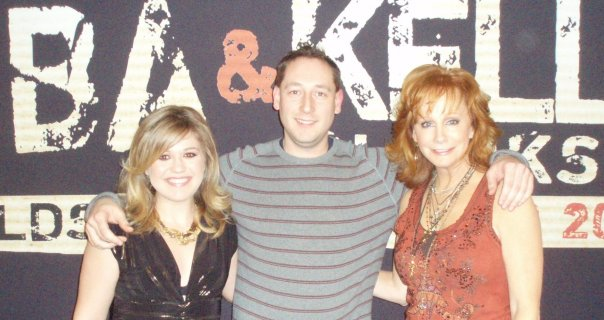 Kelly Clarkson and Reba