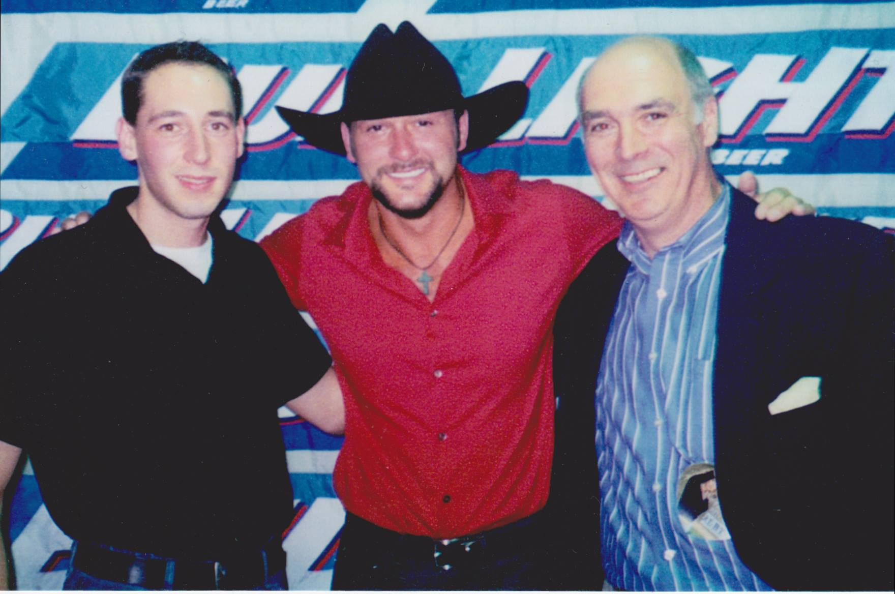 Tim McGraw and Buzz Brindle