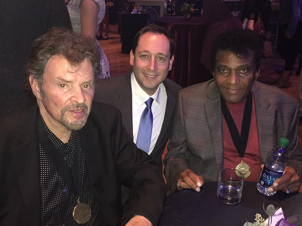 Jeff Cook (Alabama) & Charley Pride