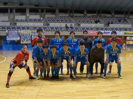 12/15 東北フットサルリーグ1部第14節(延期分)試合結果