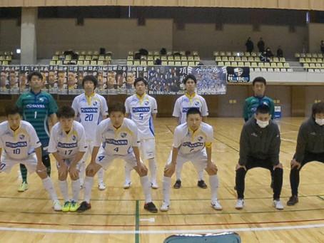 全日本フットサル選手権東北大会1日目の試合結果