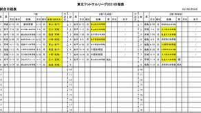 5/24 東北フットサルリーグ開幕のお知らせ