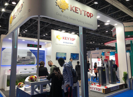 KEYTOP Smart Parking Solutions Spotlighted at INTERSEC 2020 Dubai