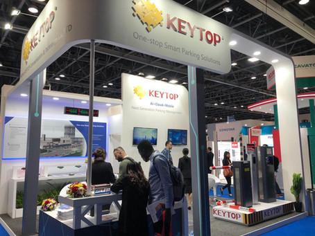 KEYTOP Smart Parking Solutions Spotlighted at INTERSEC 2020 Dubai
