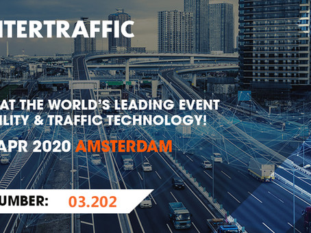 Keytop to Exhibit at INTERTRAFFIC Amsterdam 21 - 24 April 2020