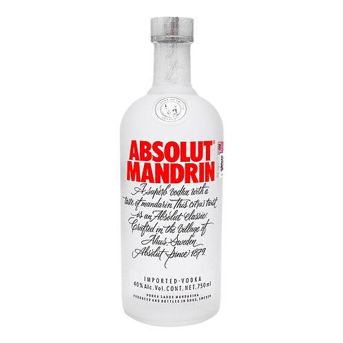 Absolute Mandarin 750ml