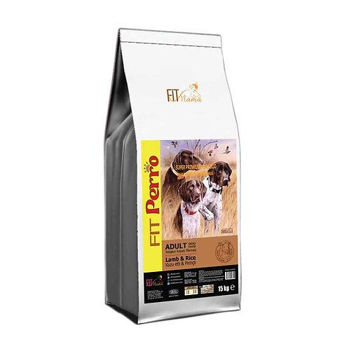 Fit Perro Plus Yetişkin Köpek Maması Kuzu Etli & Pirinçli 100g