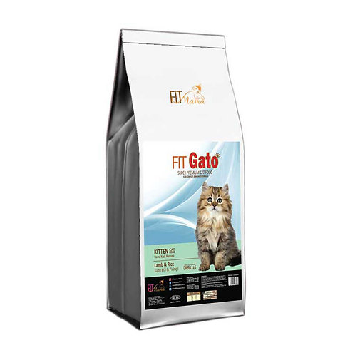 Fit Gato Yavru Kedi Maması Kuzu Etli & Pirinçli