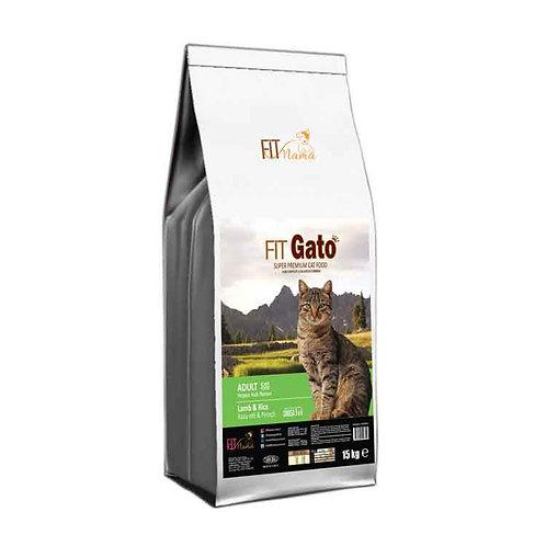 Fit Gato Yetişkin Kedi Maması Kuzu Etli & Pirinçli 100g