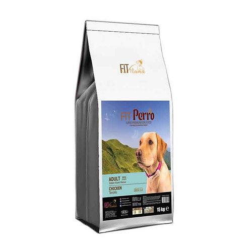 Fit Perro Plus Yetişkin Köpek Maması Tavuklu & Pirinçli 100g