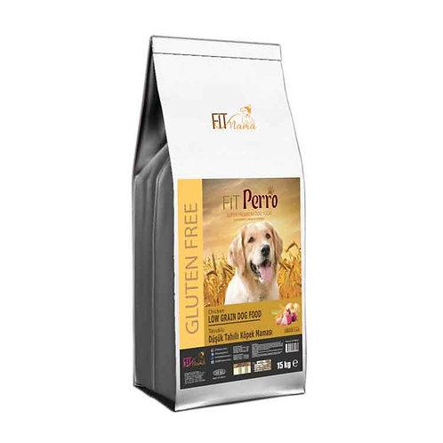 Fit Perro Glutensiz Düşük Tahıllı Köpek Maması 100g