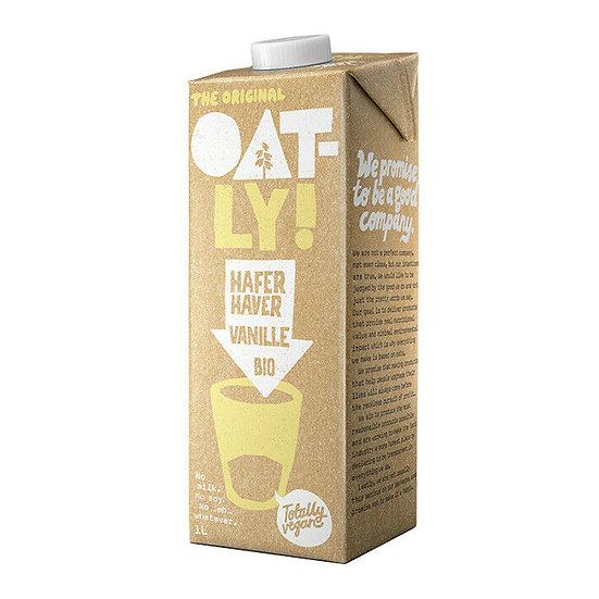 Oatly Waniliowy napój owsiany BIO 1l mleko idealne do Dalgona Coffee