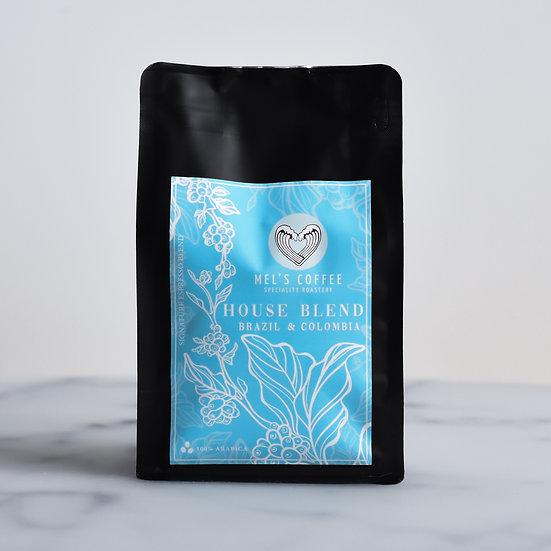HOUSE BLEND Mel's Coffee 250g świeżo palona kawa ziarno / mielona