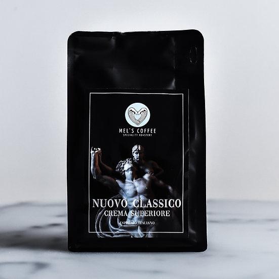 NUOVO CLASSICO Mel's Coffee 250g świeżo palona włoska kawa ziarno / mielona