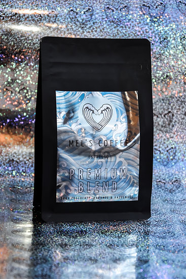 BALTICA PREMIUM BLEND Mel's Coffee 250g świeżo palona kawa ziarno / mielon
