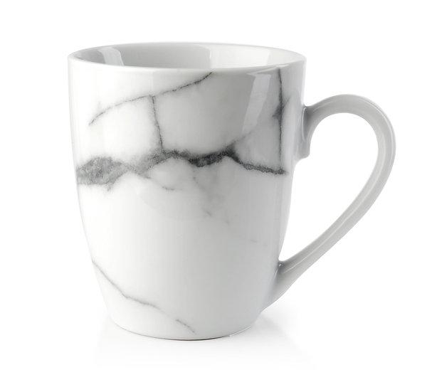 Porcelanowy kubek white marble 355ml
