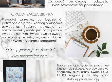 Stwórz idealne HOME OFFICE z kawą MEL'S COFFEE