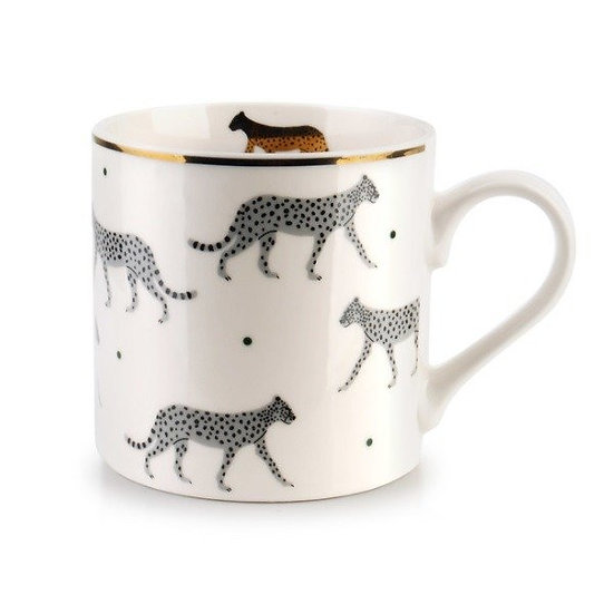 Kubek porcelanowy kotek wild panther 400ml