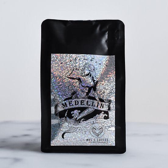 KOLUMBIA MEDELLIN Mel's Coffee 1kg świeżo palona kawa ziarno / mielona