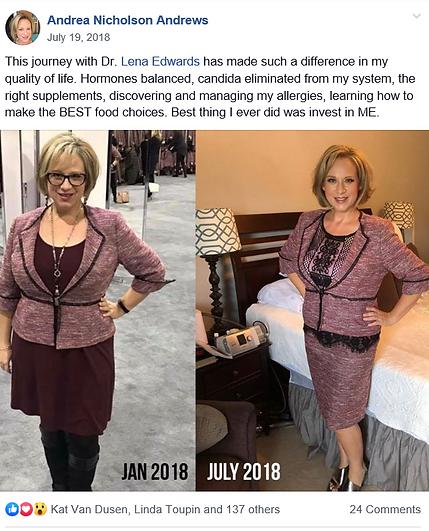 Dr. Lena Edwards testimonial, Dr.Lena Edwards patient reviews