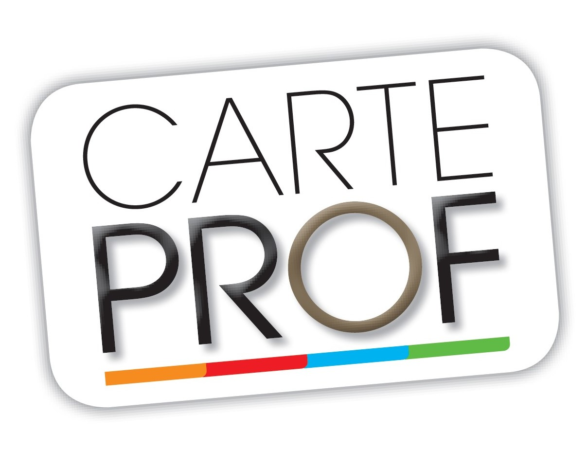 logo Carte PROF seul