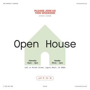 Open House - Laguna Beach