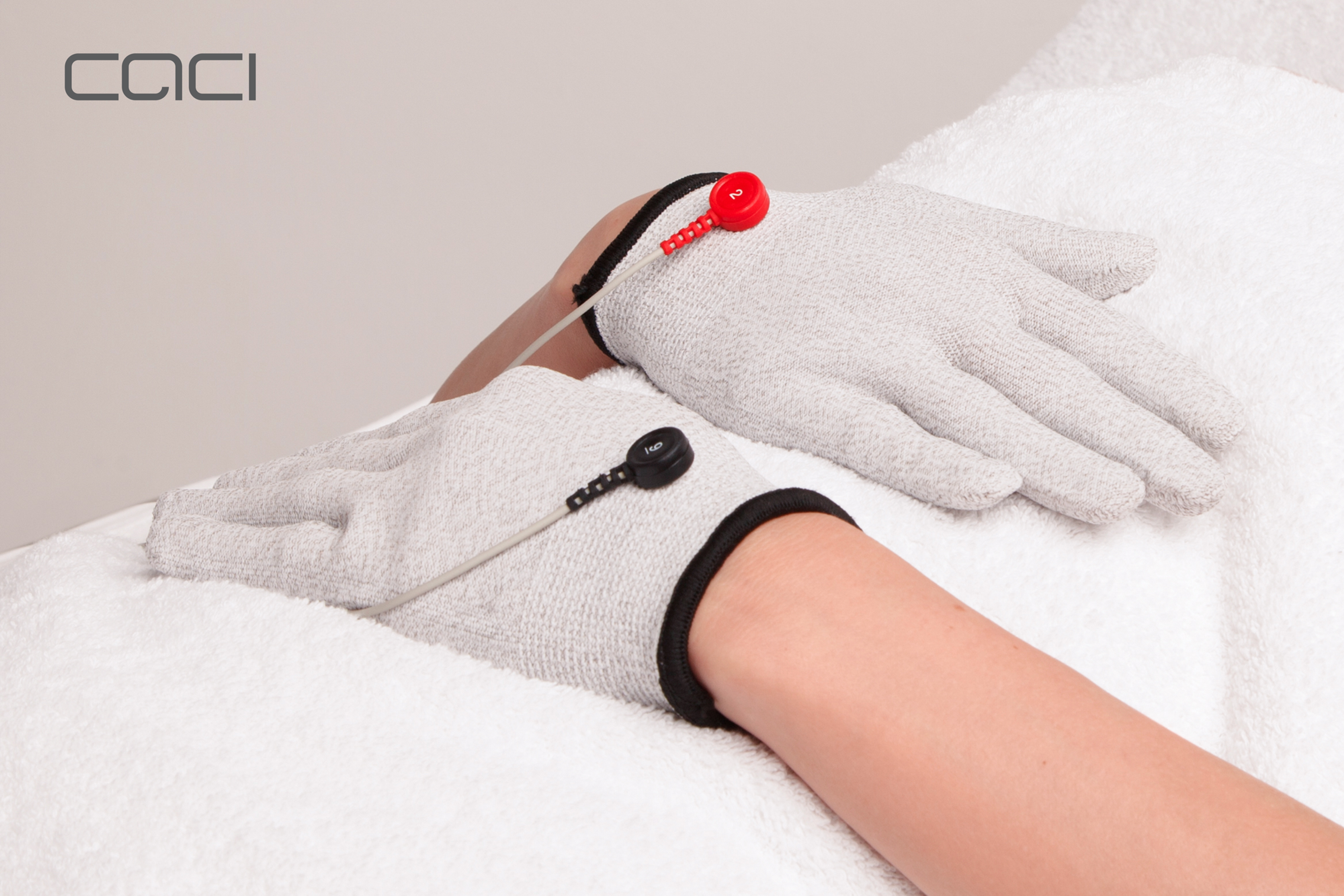 Hand Rejuvenation with Electro Gloves