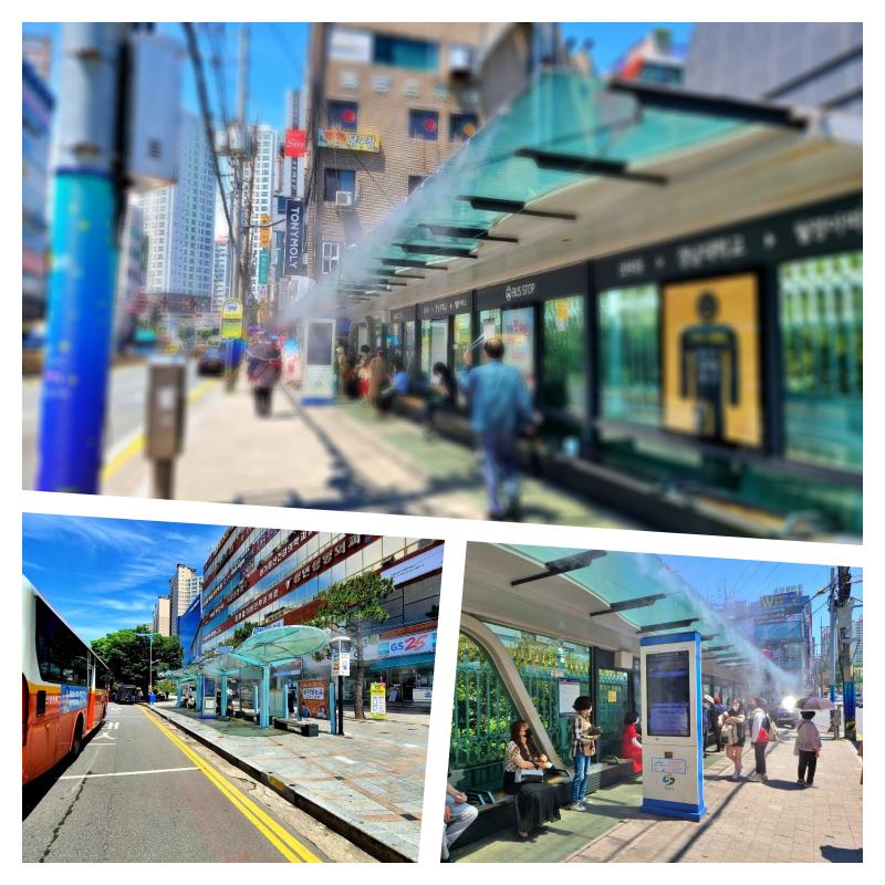 창원버스정류장-collage