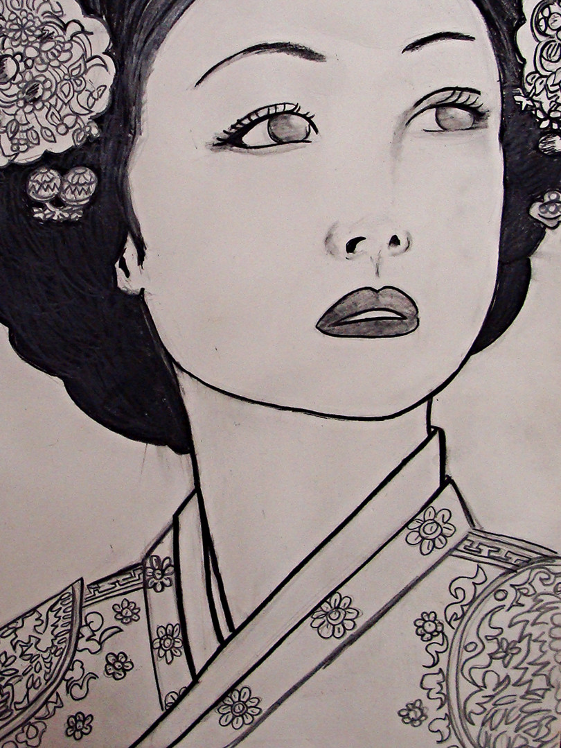 Portrait of Yi Dynasty Korean Queen