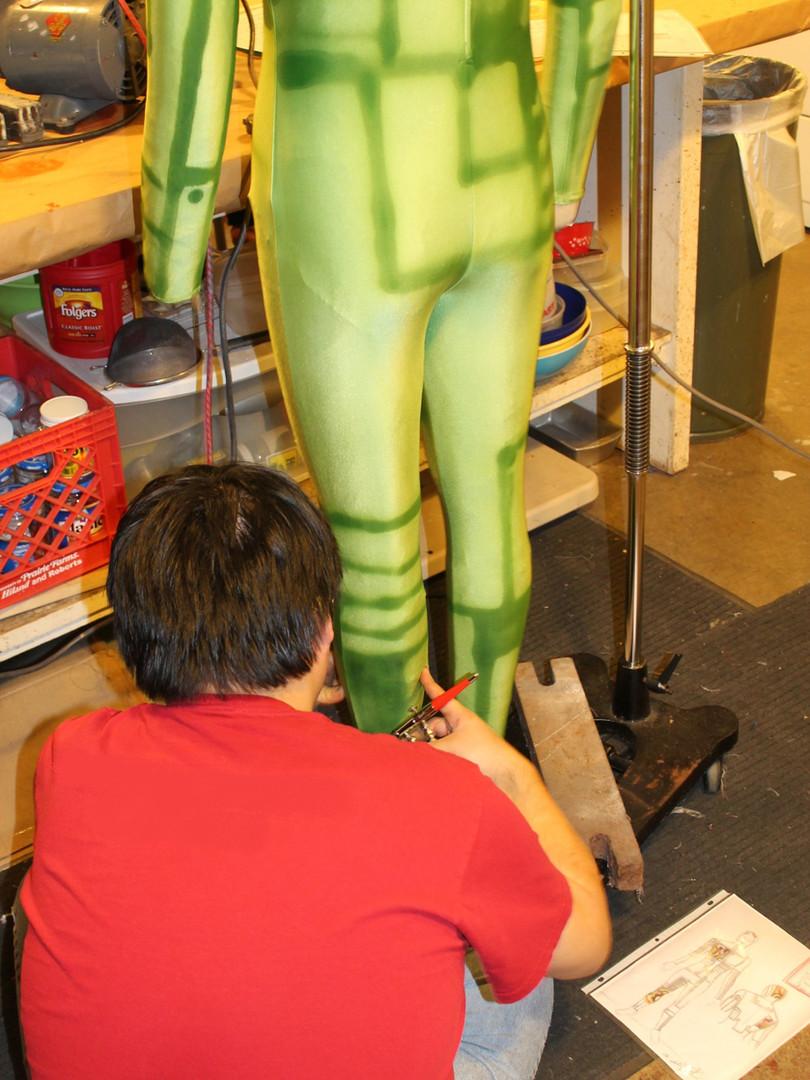 Full Unitard Airbrushing