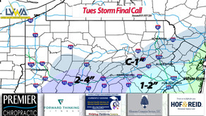 1/7/20 Final Snow Call (Tuesday PM)