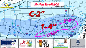 Mon/Tues First Call (12/14/19)