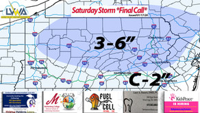Saturday Snow FINAL CALL