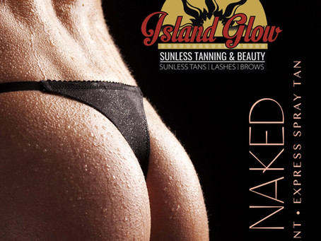 Get Bare Naked, Sweat Resistant Tan