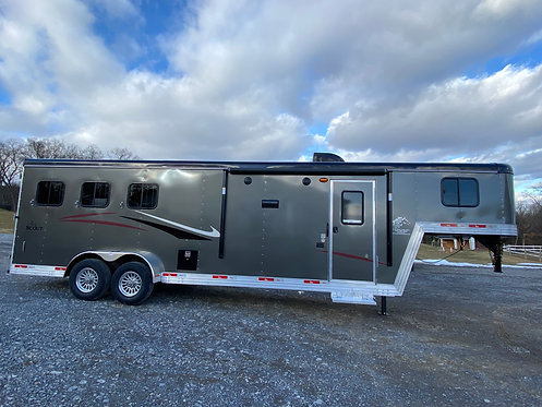 NEW 2021 Bison Scout 3 Horse with 10' LQ STOCK #0150