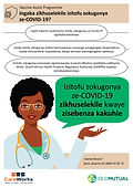 Poster 3a - is the vaccine safe OM Xhosa