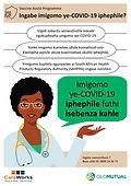 Poster 3a - is the vaccine safe OM Zulu.