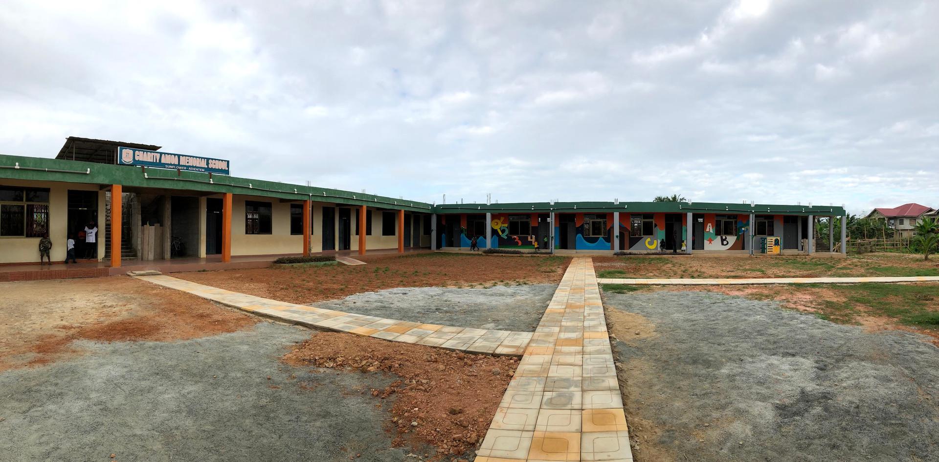 Main entrance of CAMS